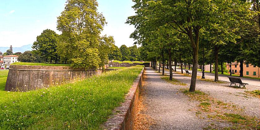 Chiuse le Mura di Lucca per il Covid-19