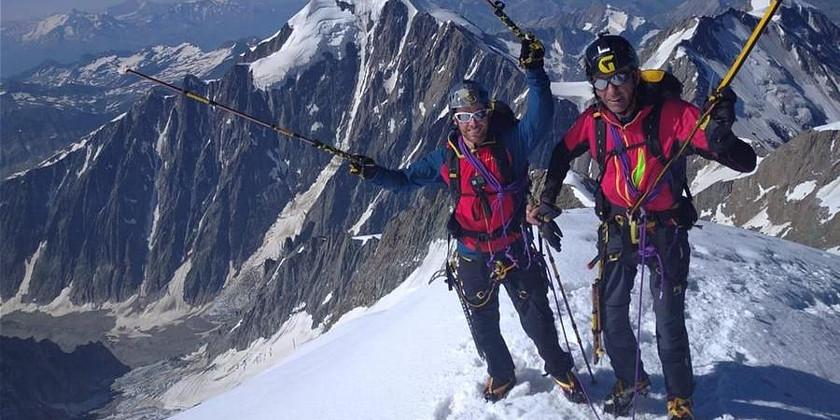 Andrea  Lanfri e Massimo Coda: 2 disabili alla conquista delle cinque vette più alte