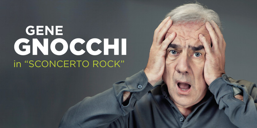 """26 agosto: Gene Gnocchi a Capannori. Il suo sarà un vero…""""Sconcerto Rock""""!"""