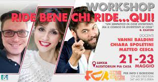 """Lucca riapre con il """"Festival della Risata""""<br>venerdì 21, sabato 22 e domenica 23"""