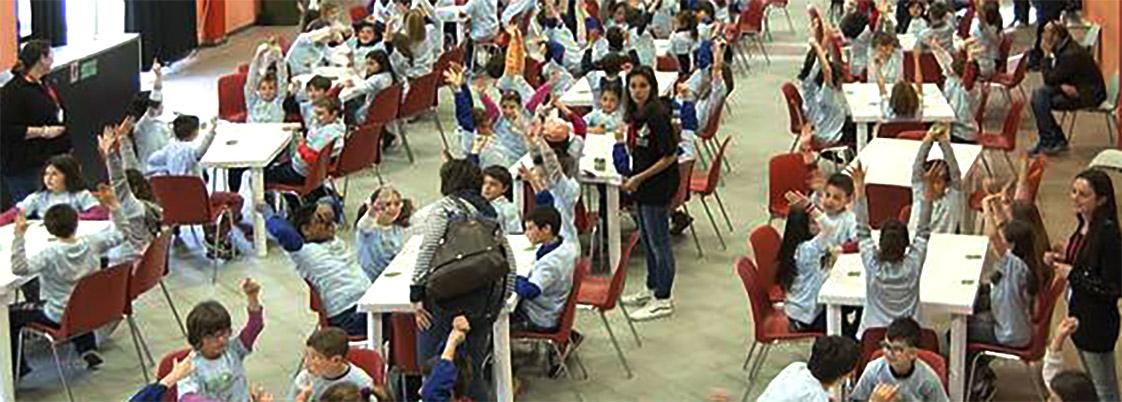 Il 28 maggio, Giornata Mondiale del Gioco<br>bambini e insegnanti di 10 scuole si sfidano