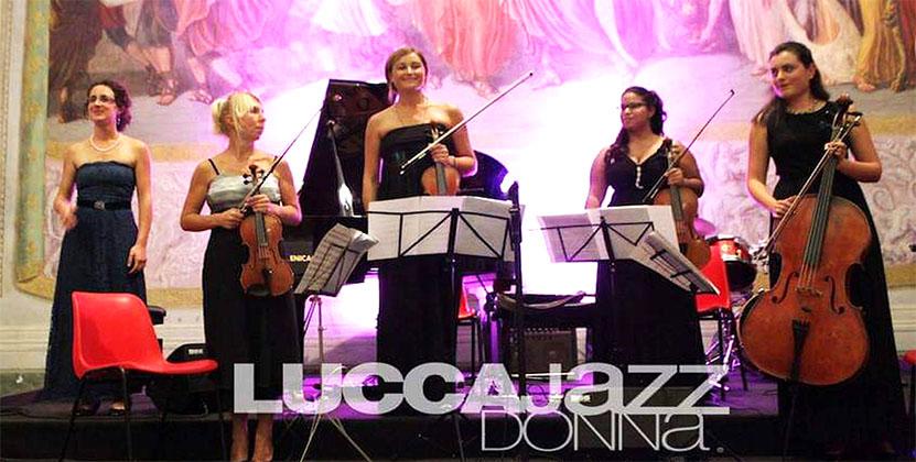 In luglio e agosto si riparte con<br>il 17° Lucca Jazz Donna Festival